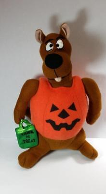 Scooby Doo - Trick or Treat -  Halloween Pumpkin Plush Toy - Scooby Doo Halloween Toys