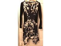 Reiss Hanky Hem Size 8 Dress £10
