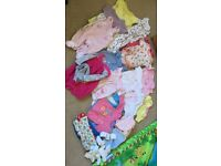 Baby girl clothes 0-3m and 3-6m