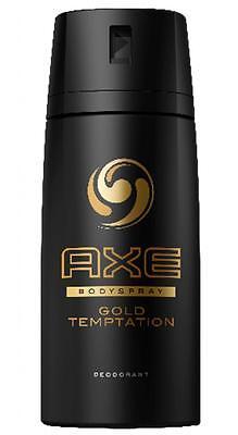 Axe Gold Temptation Deospray, 6er Pack (6 x 150 ml)
