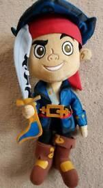 Disney Store Jake & the Neverland Pirates Soft Toy