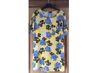 F&F Yellow & Blue Top