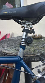 BIKE whit BROKEN FRAME at the seat tube!!! STILL MAY USABLE