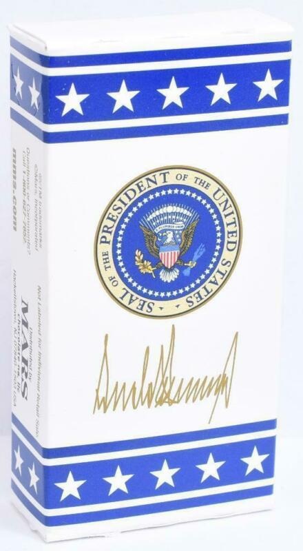 President Donald Trump Plain M&M Chocolate Candy White House Air Force One POTUS