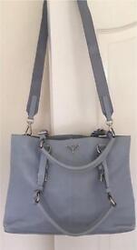 Genuine Prada Vitello Calfskin Leather Bag with Authentication Card