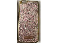 Skinny Dip gold glitter phone cover for iPhone 6 - good condition