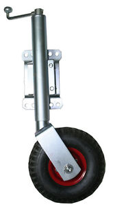 10-Trailer-Jockey-Wheel-Swivel-Heavy-Duty-Pneumatic-Swing-Up-250mm-Extension