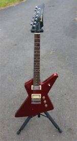VERY RARE 1981 Ibanez Destroyer II with original hard case - Not Gibson - Not Fender