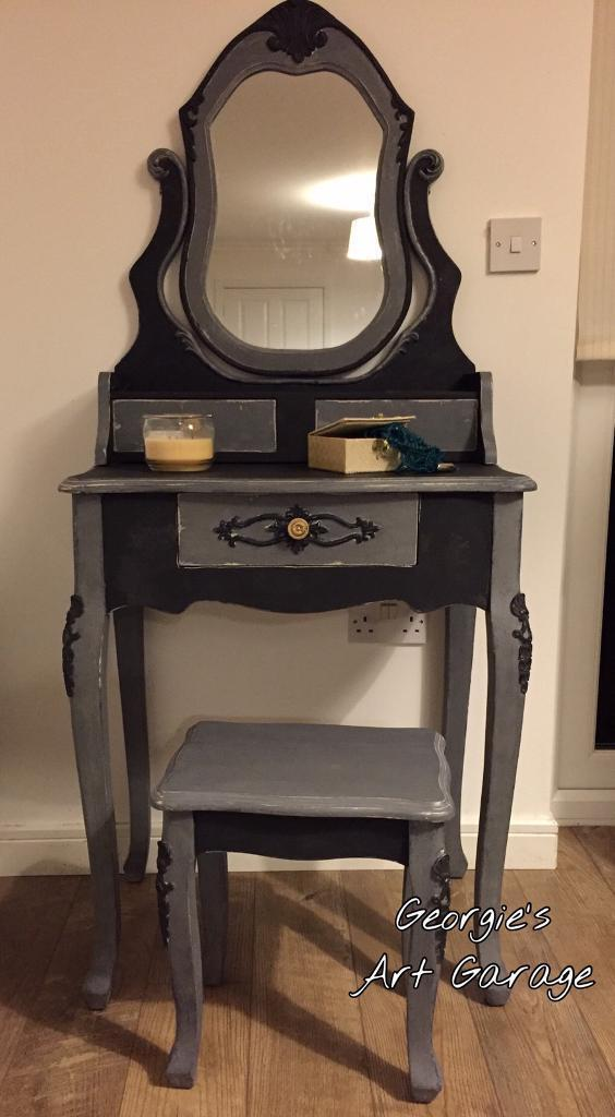 Beautiful fully refurbished French look dressing table set in chalk ...