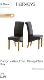 Brand new dining chairs x 4