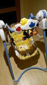 Baby Swing Flutterbye Dreams Fisher Price