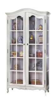 French Provincial Classic Glass Display Cabinet Cupboard Bookcase Dandenong South Greater Dandenong Preview