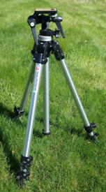Manfrotto ART 144 professional tripod with three-way head