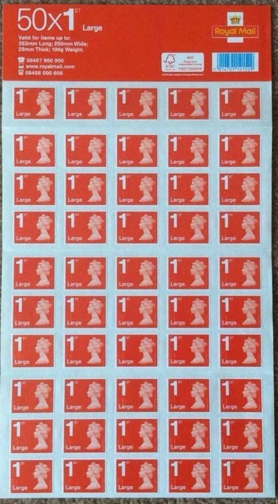 royal mail large letter stamps 1st class stamps bulk wholesale in