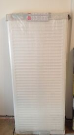 Brand New In Package Revive 600h x 1400l Double Panel + Convector Radiator