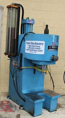 15 Ton Air Hydraulics C-frame Press Yoder 63783