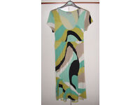 Black/jade/lime/beige dress by Wallis – size 10 – brand new no tags (cost £25)