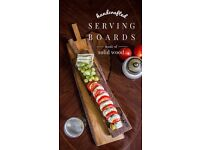 HANDMADE Serving Boards and Cutting Boards from Solid Wood
