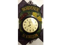 Rare Dewberry of London Vintage Wrought Iron Wall Clock SUPERB!!!