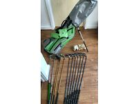"Golf Stand Bag & Clubs - US Kids UL 57"" 5 Club Stand Set"