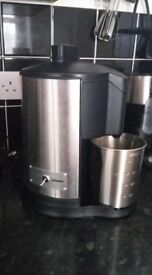 Juicer in perfect condition- stainless steel, only £20