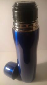Flask (Thermoses) Metallic Blue