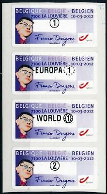 [125450] Belgium good set of stamps very fine adhesive