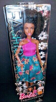 Muñeca Barbie Fashionista Negra 59 mattel