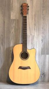 Solid Top Spruce Acoustic Electric Guitar 41 inch iMusic234