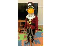 Halloween Pirate Costume (3-4 yrs)