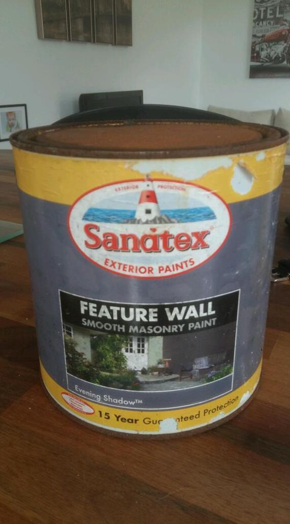 Sandtex masonry paint 5l evening shadow in poole dorset gumtree - Sandtex exterior masonry paint design ...