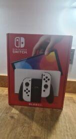 Nintendo Switch OLED. White & Black Brand New!