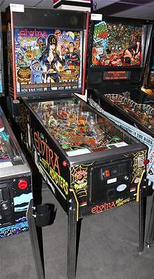 """ELVIRA AND THE PARTY MONSTERS Pinball Machine - Bally 1989 - """"It's a Fright!"""""""