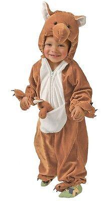 Baby Mädchen Jungen Känguru Australisch Kostüm Kleid Outfit 6-12 12-24 Monate Känguru Baby Kostüm