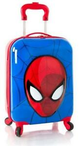 "Marvel Spiderman 3D Pop Up Boy's 18"" Hardside Spinner Carry On Luggage"