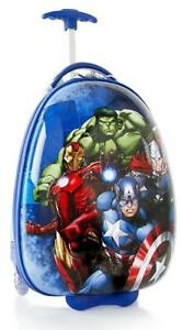 """Marvel Avengers Boy's 18"""" Rolling Carry On Luggage"""