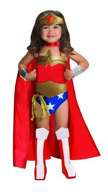Mädchen Kind Deluxe Wonder Women Kostüm Dc Superhelden - Männliche Superhelden Kostüm