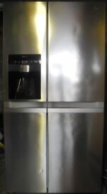American style LG Fridge-Freezer with Ice/Chilled Water dispenser (no plumbing req.) Frost Free.