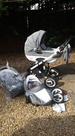 Pram Ottis 3 in1 New strollers