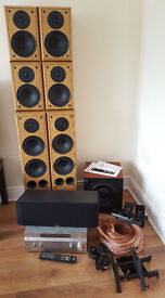 Complete 7.1 Surround Sound System with Sony AV Receiver + Accessories