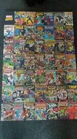 Marvel comics banner/poster