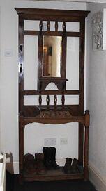 Art Nouveau Hall Stand