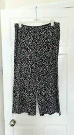 Marks and Spencer Culottes Size 20