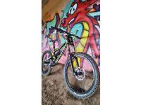 Specialized status downhill mountain bike