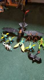How to Train Your Dragon various
