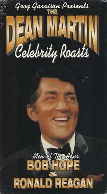 VHS: BEST OF DEAN MARTIN CELEBRITY ROASTS BOB HOPE & RONALD