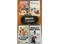 Sony Black PSP Street Console E1003 With Games