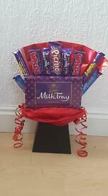 Valentine's gift, Chocolate Bouquet! Cadburys chocolate!