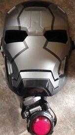 Iron Man mask and wristband
