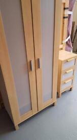 Ikea wardrobe and draws